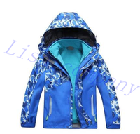2016 hot sale child winter ski jacket single plate double plate ski waterproof windproof thickening ventilation hiking cloth