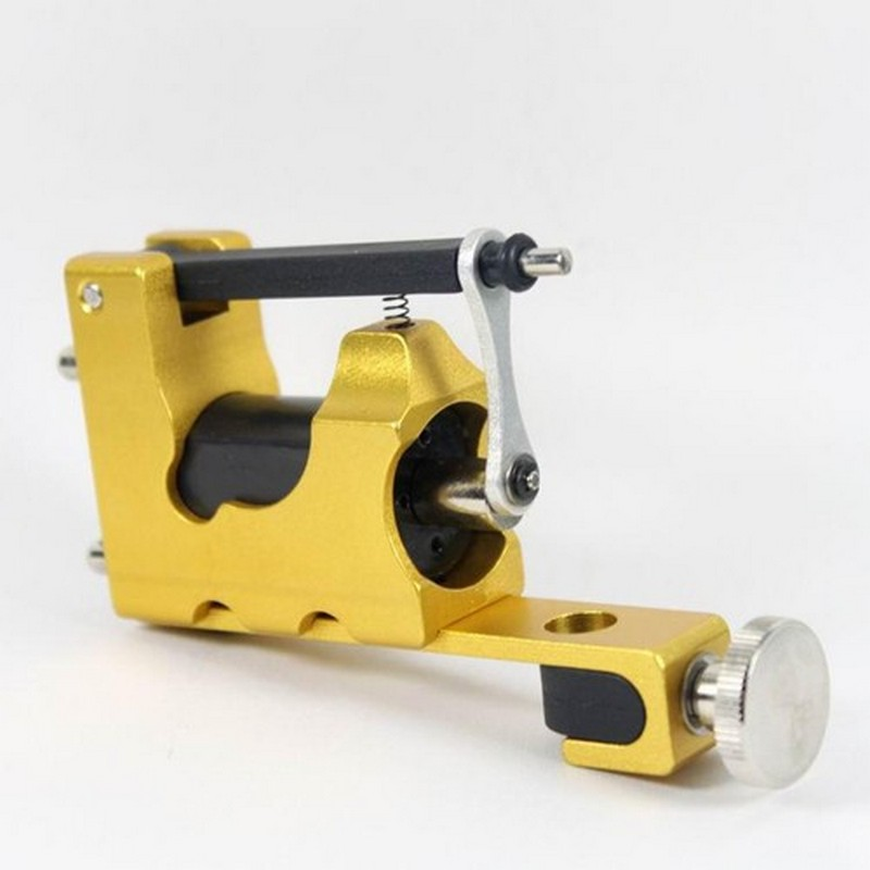 STEALTH ROTARY Aluminum Rotary Tattoo Machine Strong Consistent  Power for Shader & Liner Yellow one