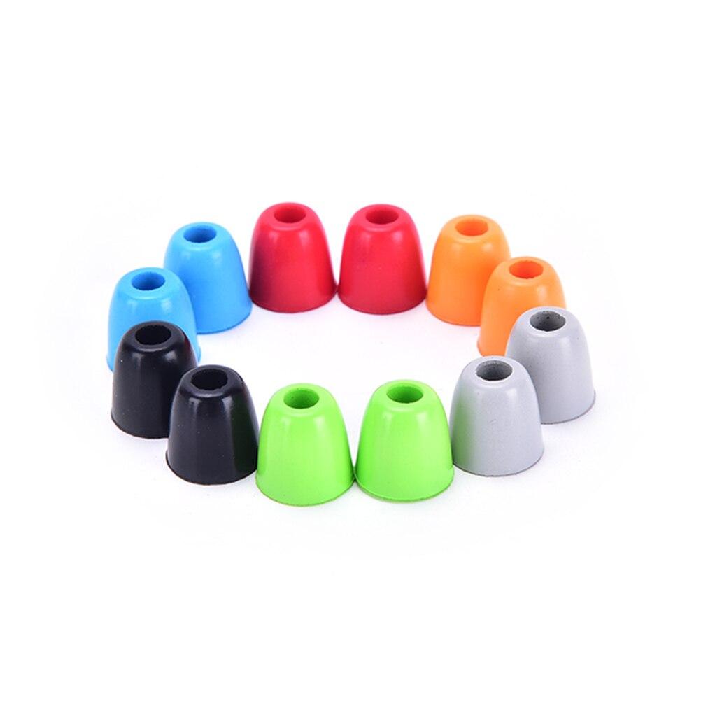 New 4pcs2pair Memory Foam Headphone Ear Pads Eartips Earplug Sponge Ear Cups Headset Bud Tips In-Ear Earphone Earbuds
