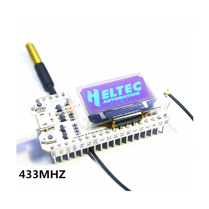 433MHZ ESP32 LoRa SX1278 esp32 led 0.96 Inch Blue OLED Display Bluetooth WIFI Lora Kit 32 433MHZ Development Board for Arduino arduino internet of things development board esp32 chip non module bluetooth oled wifi kit 32