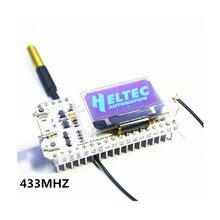 433MHZ ESP32 LoRa SX1278 esp32 led 0.96 Inch Blue OLED Display Bluetooth WIFI Lora Kit 32 433MHZ Development Board for Arduino