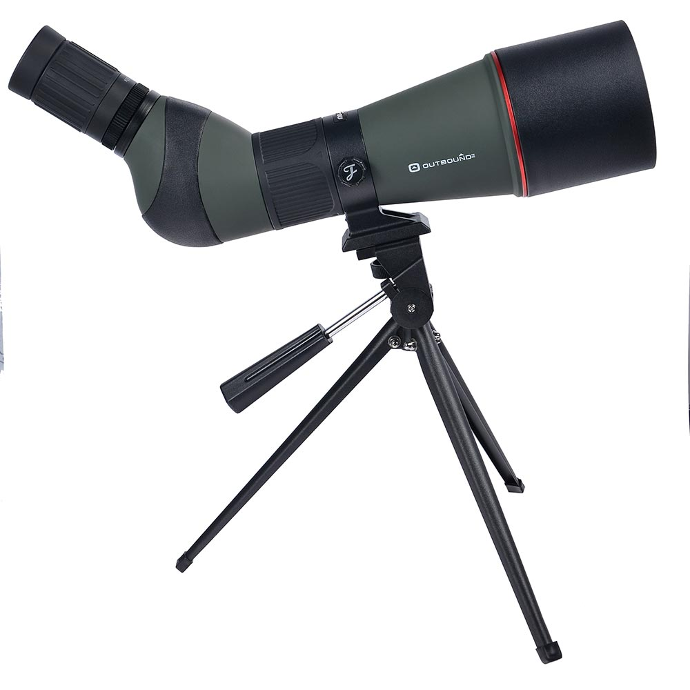 JOUFOU 20-60X80 Zoom Telescope High Quality Hunting Precision Spotting Scope With Tripod зрительная труба veber snipe 20 60x80 gr zoom