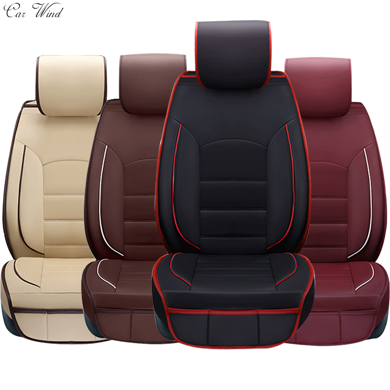 car wind brand leather Ics silk car seat covers For kia sportage 3 volkswagen polo renault