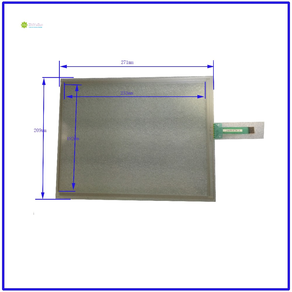 ZhiYuSun  LAQC0025702B 271mm*209mm 12.1inch 8 lins Touch Screen glass touchsensor 271*209touchglass digitizer GLASS Good zhiyusun for iq701 new 8 inch touch screen panel touch glass this is compatible touchsensor 124 5 173
