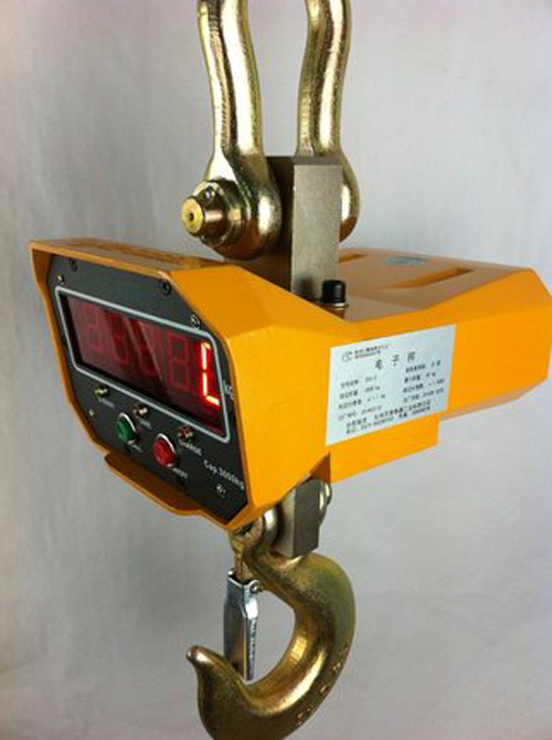 Industrial Hanging Crane Scale OCS-C Heavy Duty Weighing Scale 5T 2kg 220V дырокол deli heavy duty e0130