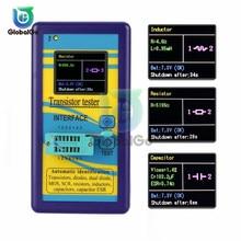 M328 Diode Transistor Tester ESR Resistance Inductance Capacitance LCR Meter Detector LCD Digital Multimeter Capacitor nflc victor digital multimeter 20a 1000v resistance capacitance inductance temp vc9805a