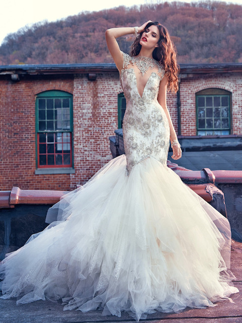 Aliexpress.com : Buy INM 220 Customized New Cheap Princess Wedding ...
