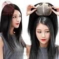 """Дышащие реальные Человеческие волосы системы парик для женщин ручной Шелк база Топ шиньоны швейцарский шнурок Парик с зажимом 8 """"12"""" 16"""""""