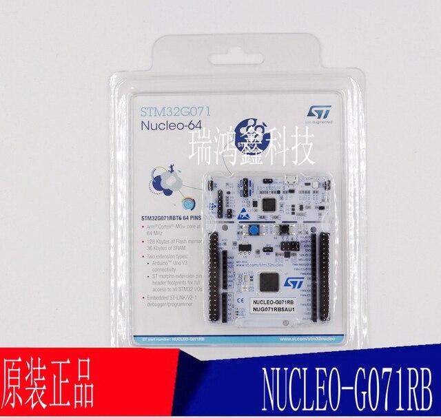 1 PCS ~ 5 adet/grup NUCLEO G071RB NUCLEO 64 STM32G071 Geliştirme kurulu