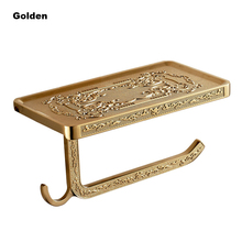 24k gold toilet paper. OKAROS 2017 Toilet Paper Holder With Phone Shelf Towel Roll Rack  Hooks Wall Free shipping on Holders in Bathroom Hardware