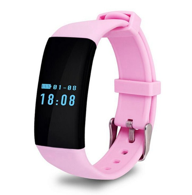 Waterproof Heart Rate Monitor Smart Wristband Bluetooth Bracelet Fitness Tracker Swim Sports Smartband for Android iOS  ZNSH003