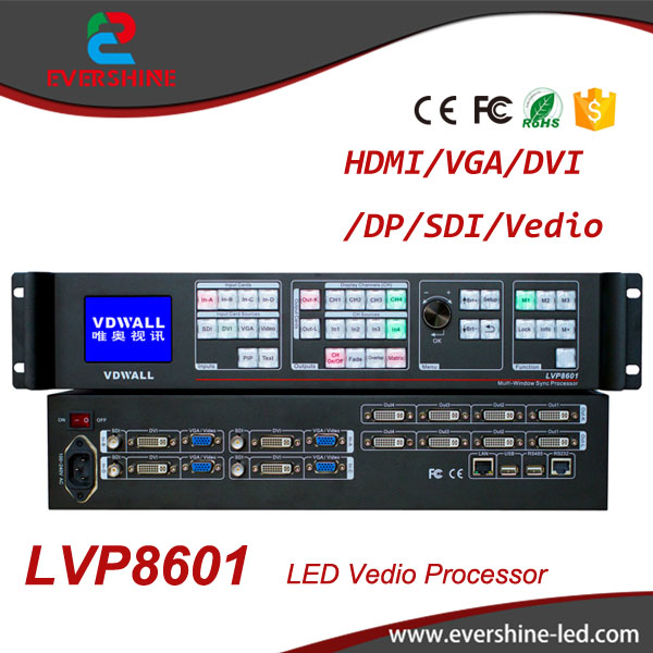 VDWALL LVP8601 HD Multi-Windows Sync Stitcher LED Video Processor,Professional Processor for Small Pixel Pitch LED Screen hohner easy stitcher
