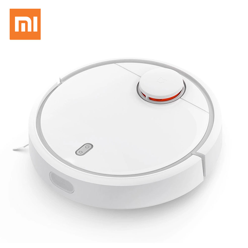 Original XIAOMI Mi Robot Vacuum Cleaner Robotic Smart Planned App Remote Control Automatic Sweeping Dust Sterilize Self Charge liectroux x5s robotic vacuum cleaner wifi app control gyroscope navigation switchable water tank