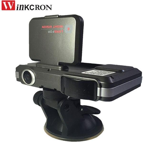 Détecteur de Radar de voiture 3 en 1 (voix russe) DVR caméra HD 720P 2.0