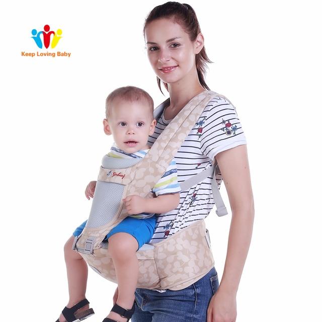 Ergonomic Baby Carrier Infant Baby Hipseat Sling Children Backpacks