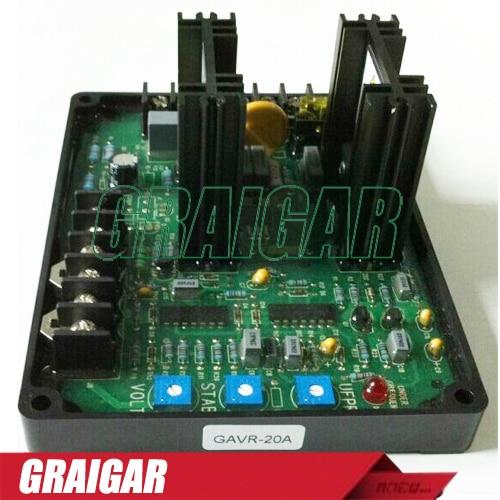 5PCS/LOTS Universal Brushless Generator AVR GAVR 20A / GAVR-20A with best quality цена