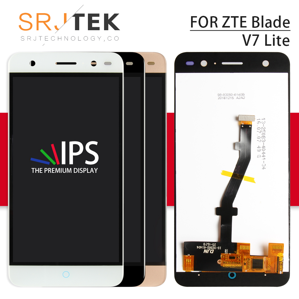 Srjtek Screen For ZTE Blade V7 Lite LCD Display Full Assembly Touch Screen Replacement Parts For ZTE V7 Lite Display LCD FrameSrjtek Screen For ZTE Blade V7 Lite LCD Display Full Assembly Touch Screen Replacement Parts For ZTE V7 Lite Display LCD Frame