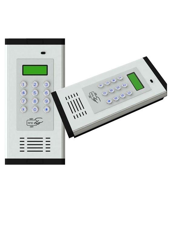 Audio Gegensprechanlage Einfache Und Einfach Zu Installieren K6 Fre Benutzer Apartment Intercom Audio Türsprechanlage Für Wohnung Oudoor Panel