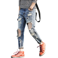 2016 new arrived World Famous Brand Men Jeans Fashion Designer mens skinny pants men straight Jeans casual mens patch beggars