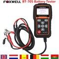 Бесплатная Доставка DHL Foxwell BT705 BT-705 12 Вольтовой Батареи Анализатор Тестер Непосредственно Обнаружить Плохой Автомобиль Батарея Тестер