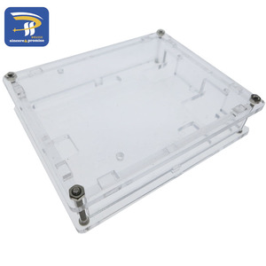 Image 5 - One set Transparent Box Case Shell for Arduino UNO R3