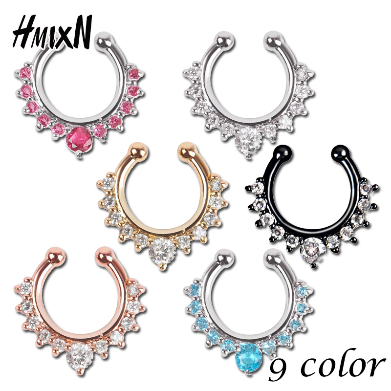 If you have taken your nose piercing to the next level with a septum piercing then this selection of septum clickers is sure to hold the perfect piece of jewelry for you.