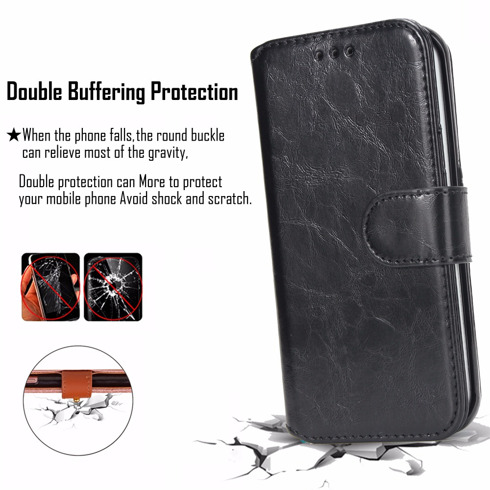 [Long Steven]For Samsung S6 Case Detachable Leather Card Pocket Magnet Adorption Back Cover Kickstand For Samsung Galaxy S6 Case