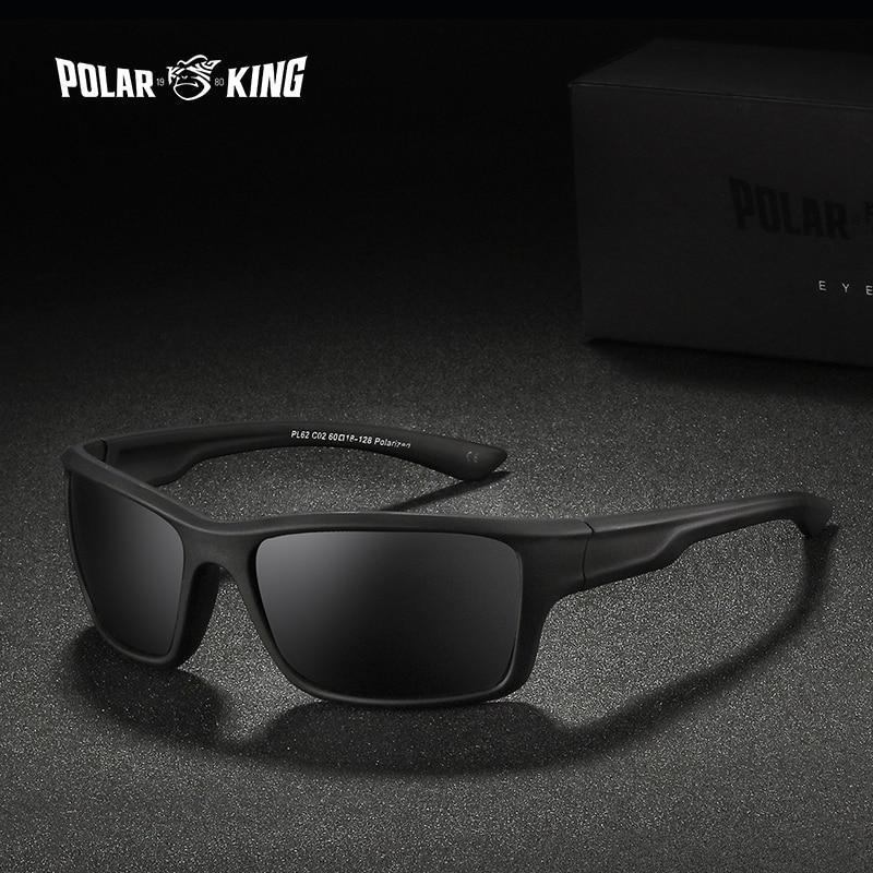 Polarking marca óculos de sol polarizados masculinos óculos de sol moda esporte óculos de viagem óculos de sol