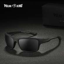 POLARKING Brand Men's Polarized Sunglasses Oculos de sol Fas