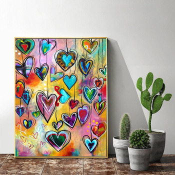 HUACAN DIY 5D Diamond Painting Love Heart Full Square Diamond Mosaic Embroidery Sale Picture Of