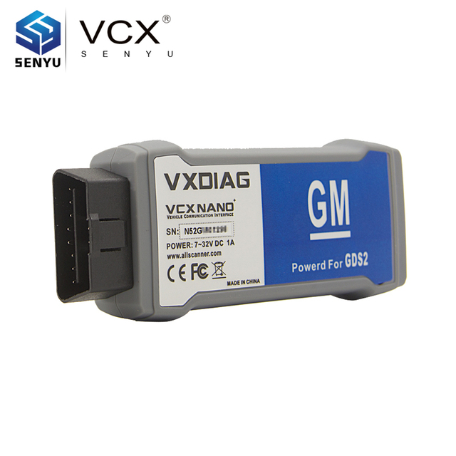 US $119 0 |VXDIAG VCX NANO for G M/OPEL GDS2 tech2win Diagnostic Tool  Better Than Tech2 Scanner Diagnostic/Programming System-in Car Diagnostic  Cables