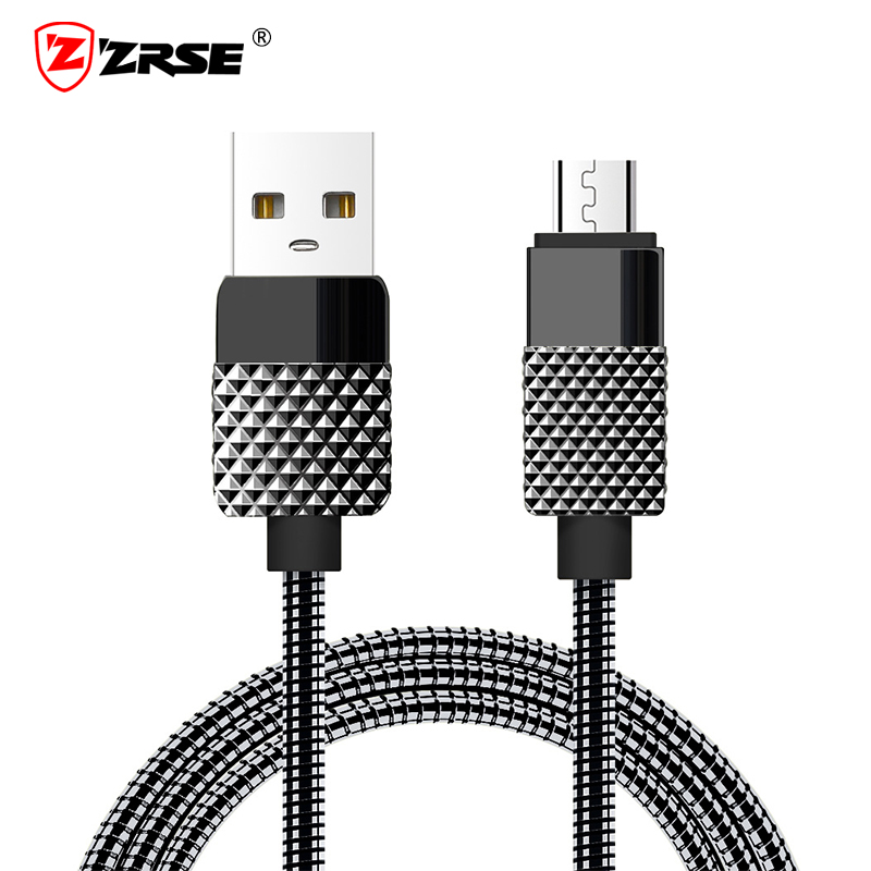 yan Universal Retractable USB 2.0 A Male to Micro B Male Data Sync Charger Cable 2FT