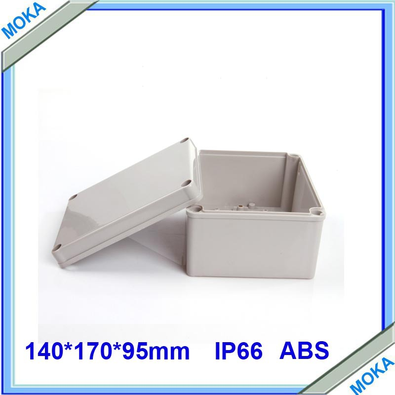 Factory Supply Rectangle Waterproof And Dustproof IP66 plastic electrical box 140*170*95mm