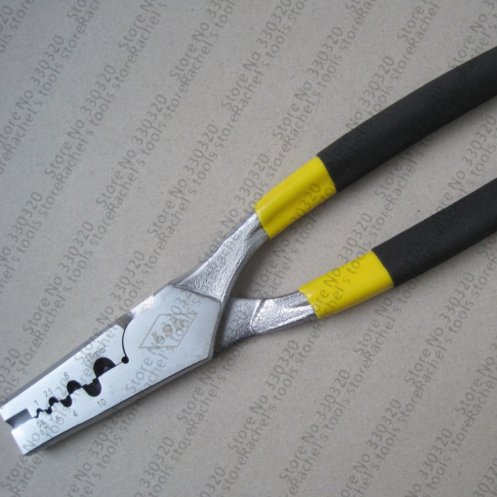 PZ0.5-16 Multi-function Crimp Tool For Cable End Sleeves 0.5-16mm2,cable Ferrules Crimping Tool