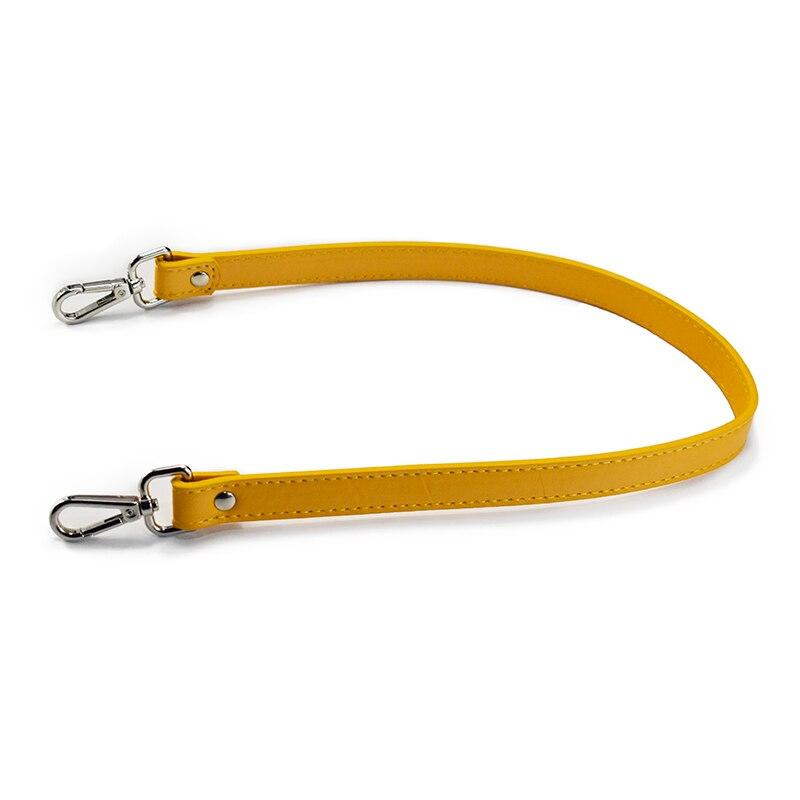 1Pair Leather Handle Replacement Bag Straps 62CM Detachable Shoulder Bags Handbag Handles Bag Accessories Handmade Parts Brown