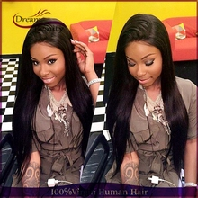 Unprocessed Human Hair Wigs 150% Full Glueless Lace Front Wigs With Baby Hair Straight Full Lace Wigs Peruvian Virgin Hair Wigs