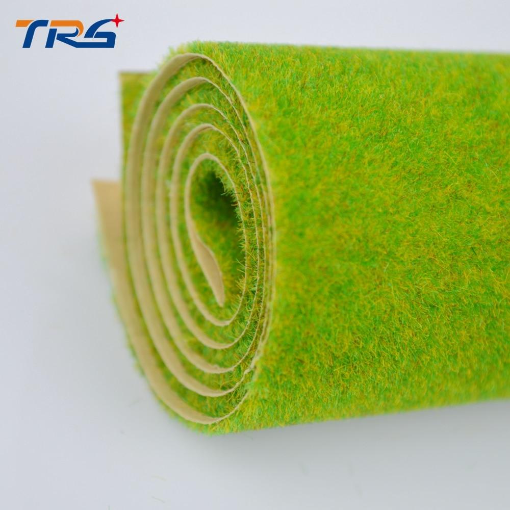 Летњи зелени модел травнати тепих, грађевински модели материјала, скале модели травнати тепих за 50цм * 50цм