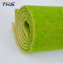 Summer Green Model grass mat, building model materials, scale models mat for 25cm*25cm