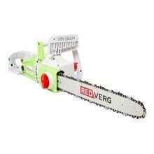 Пила цепная электрическая REDVERG RD-EC2200-16 (Мощность 2200 Вт, длина шины 40 см, шаг цепи 3/8