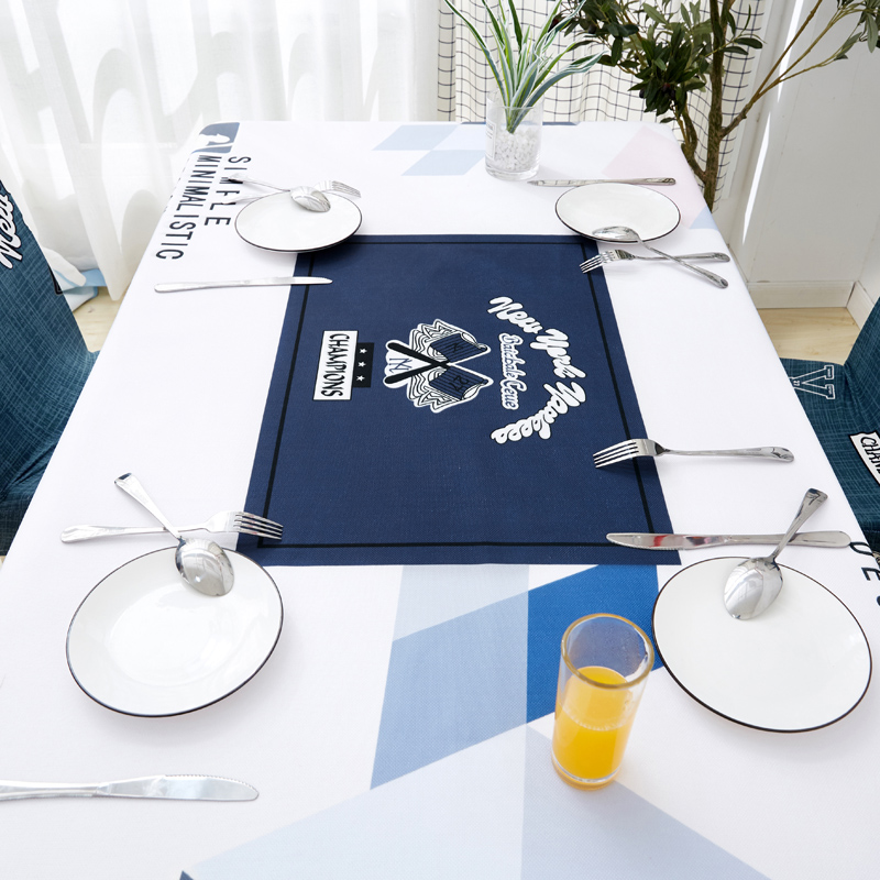 Image 3 - Parkshin Nordic Decorative Tablecloth Home Kitchen Rectangle Waterproof Table Cloths Party Banquet Dining Table Cover 4 Size-in Tablecloths from Home & Garden
