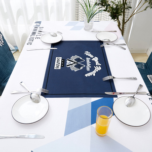 Image 3 - Parkshin Nordic Decorative Tablecloth Home Kitchen Rectangle Waterproof Table Cloths Party Banquet Dining Table Cover 4 Size