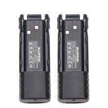 2 шт. BAOFENG UV-82 BL-8 7,4 V 3800 mAh Li-Ion Батарея с DC разъем для Baofeng Walkie Talkie BF-UV82 UV-82HP УФ 82 плюс радио