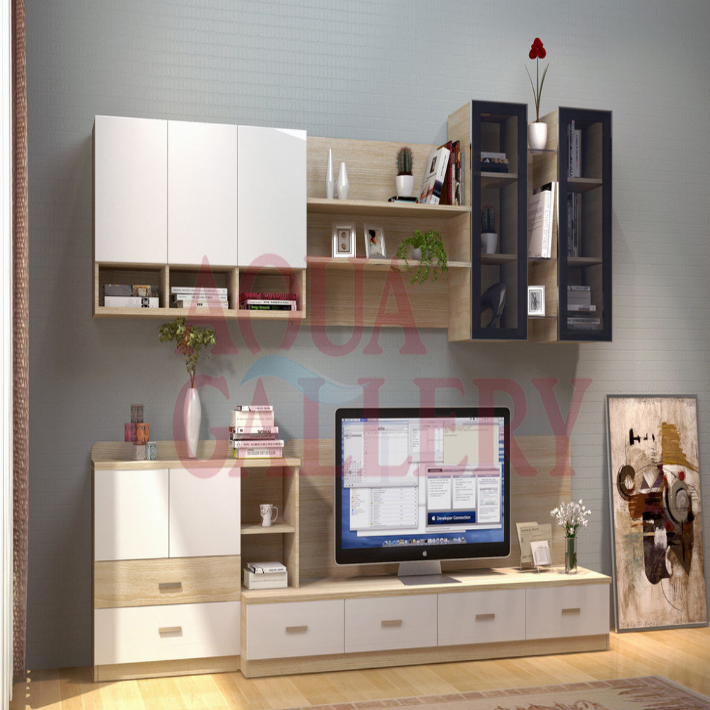 Customized Plywood LED TV Stand Cabinet-in TV Stands from Furniture ...