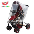 Universal Strollers Pushchairs Baby Carriage Waterproof Dust Rain Cover Windshield Free Shipping