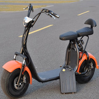 Citycoco электрический скутер Fat Tire 1000 В Вт 60 в 12AH/20AH литиевый Мотоцикл E Bike Велоспорт ЖК дисплей Bluetooth gps педаль город