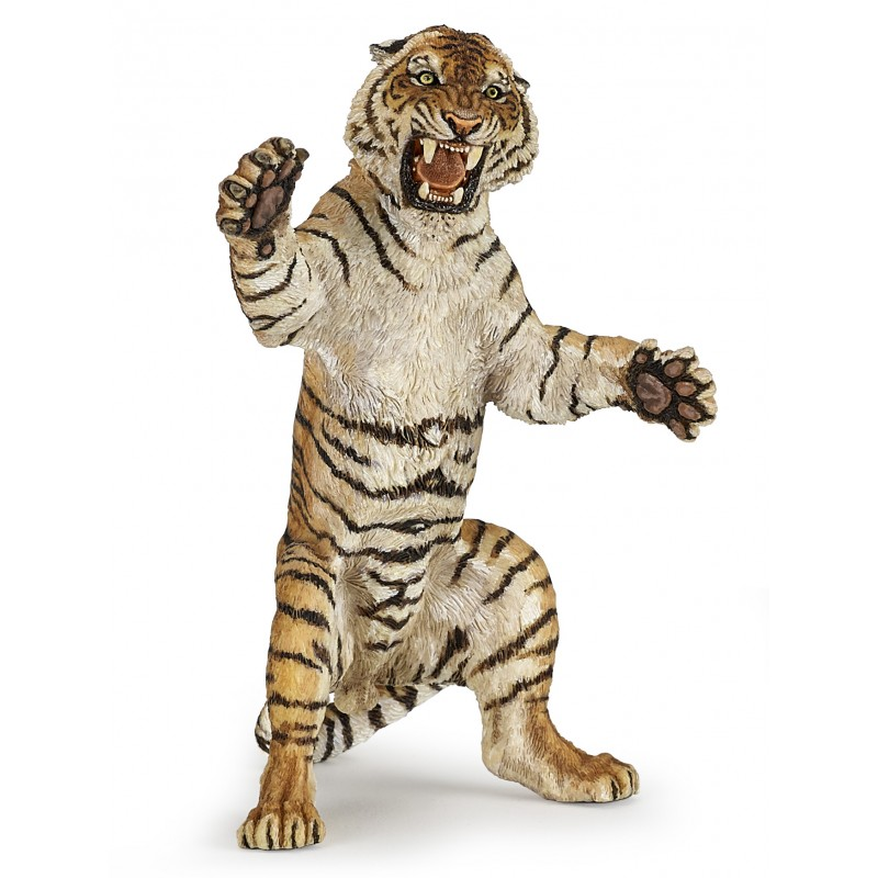 11.5cm Animal Model Action Figures PVC Tiger Simulation Animal Toy Learning Educational Toys For Children Gifts easyway sea life gray shark great white shark simulation animal model action figures toys educational collection gift for kids