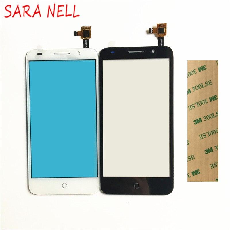 SARA NELL Téléphone Tactile Écran pour alcatel one touch pop 3 ot5015 5015 5015a 5015d 5015e 5015x digitizer tactile panneau capteur en verre