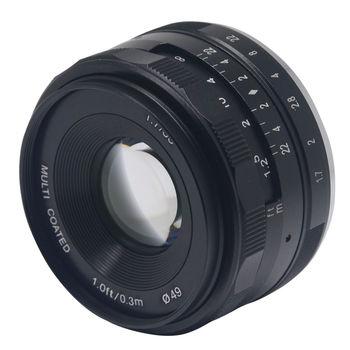 35mm f1.7 Manual Focus Lens APS-C for e mount nex5/6/7 A6000 a5100 a5000 a6300 A6500 A7S A7 A7R A7S II a9 camera