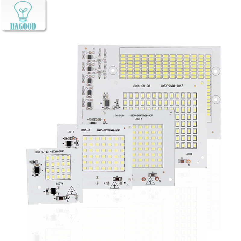 2835/5730 SMD Chip 10W 20W 30W 50W 100W Smart IC LED Driver 220V Implanted LED Light Chip For DIY High Power Floodlight