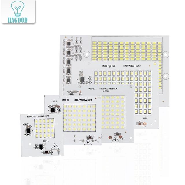 2835 5730 smd chip 10w 20w 30w 50w 100w smart ic led driver 220v